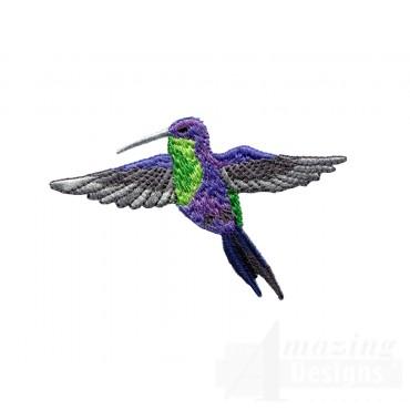Swnhe138 Hummingbird Enchantment Embroidery Design