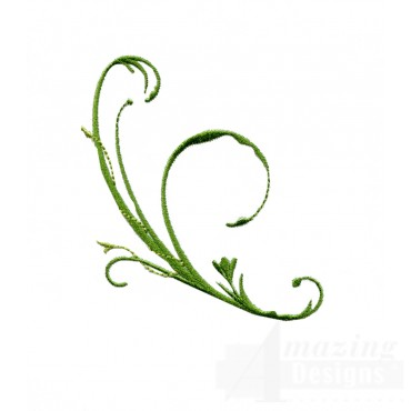 Swnfl242 Flourishing Flowers Embroidery Design