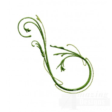 Swnfl243 Flourishing Flowers Embroidery Design
