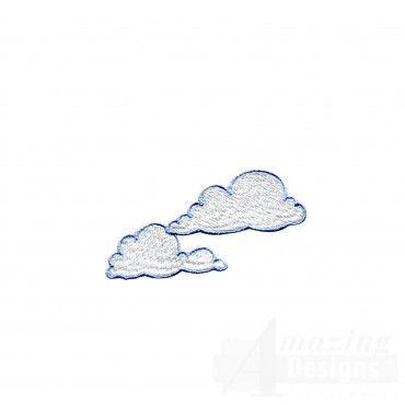 Swncpc117 Clouds 1 Embroidery Design
