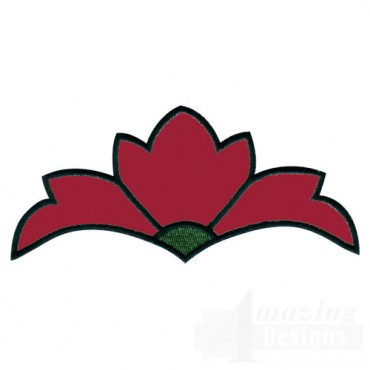 Asian Floral Applique