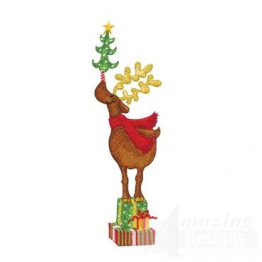 Reindeer on Gifts