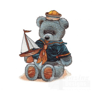 Bear with Sailboat