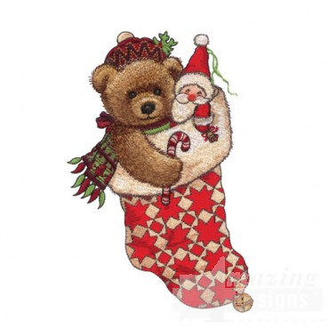Bear in Stocking