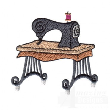 Sewing Machine and Stand