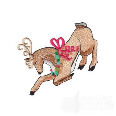 Bowing Reindeer