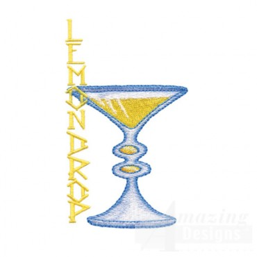 Lemondrop Martini Glass
