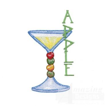 Apple Martini Glass
