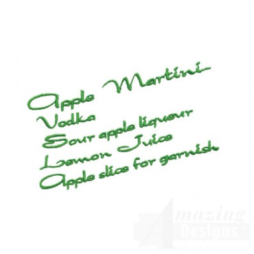 Apple Martini Ingredients
