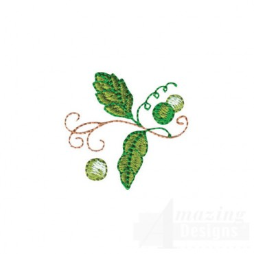Pea With Leaves
