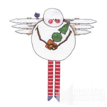 Folk Snowman 1