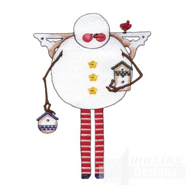 Folk Snowman 2