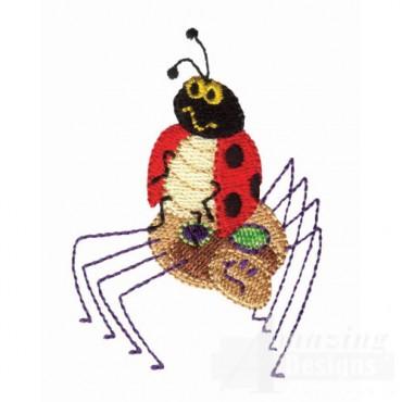 Spider And Ladybug 2