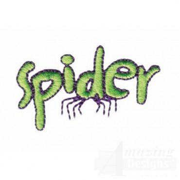 Spider Lettering