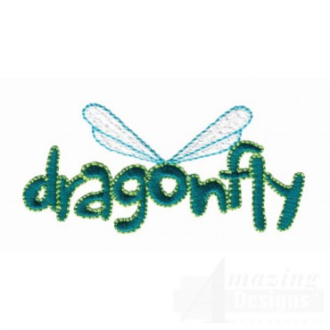 Dragonfly Lettering