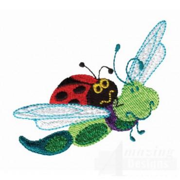 Ladybug And Dragonfly