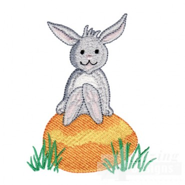 Rabbit With Egg 2