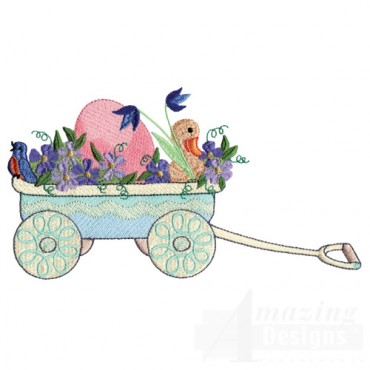 Eggs In Wagon