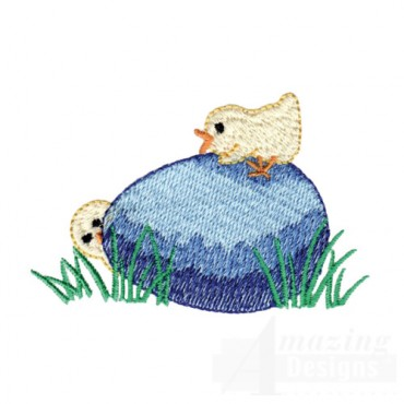 Chick On Egg