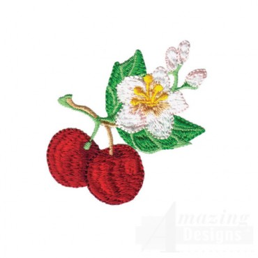 Cherries With Flower