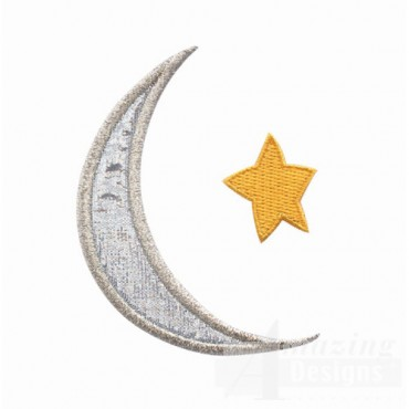 Moon Applique