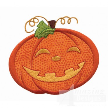 Pumpkin Applique 3