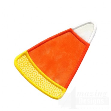 Single Candy Corn Applique