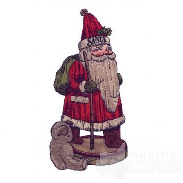 Santa Carving