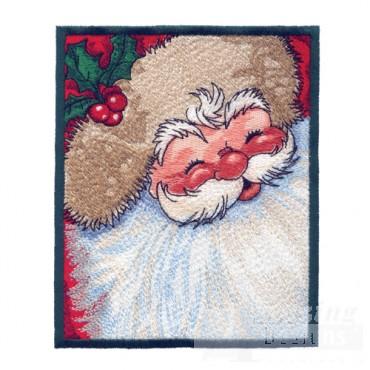 Cherry Face Santa