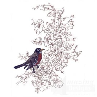 Perched Bird 11