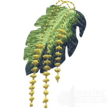 Tropical Bloom And Leaf