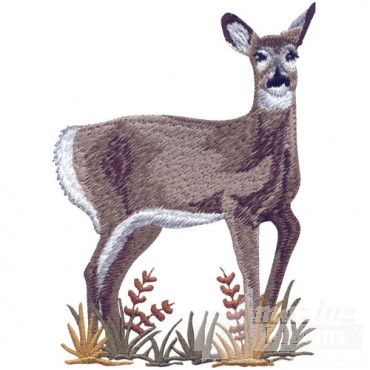 Doe In Foliage 2