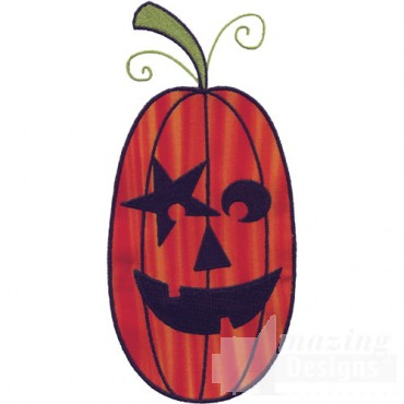 Applique Jack O Lantern