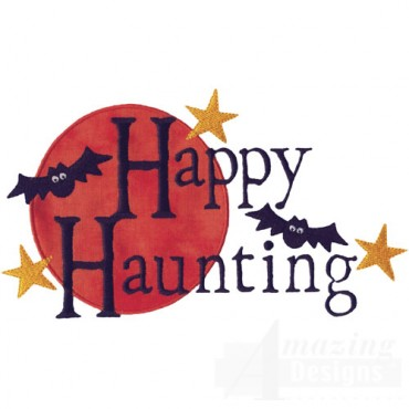 Happy Haunting Applique