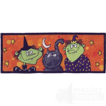 Halloween Hags Applique