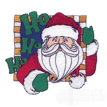 Santa In Frame