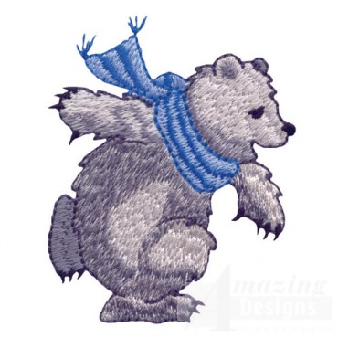Ice Skating Bear 3