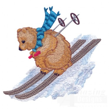 Skiing Bear 2
