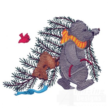 Bear With Tree