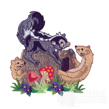 Skunk And Ferrets