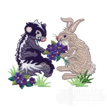 Skunk And Rabbit