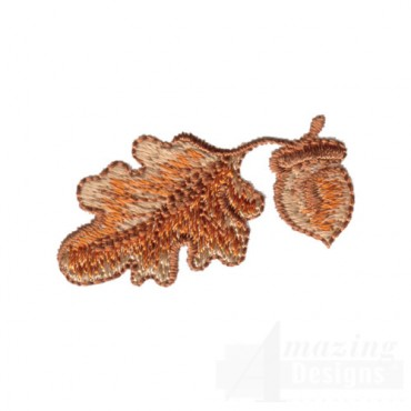 Leaf with Acorn