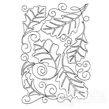 Leaf Quilt Block 3