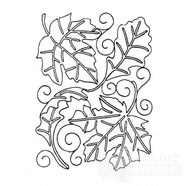 Leaf Quilt Block 5