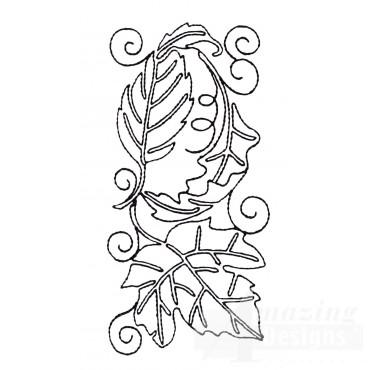 Leaf Quilt Block 7