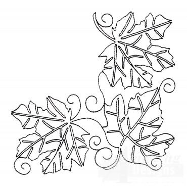 Leaf Quilt Corner 7