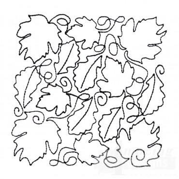 Leaf Quilt Block 14