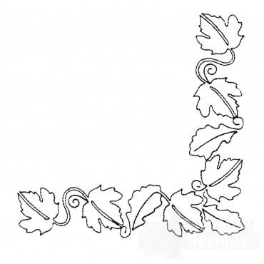 Leaf Quilt Corner