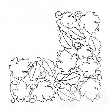 Leaf Quilt Corner 14