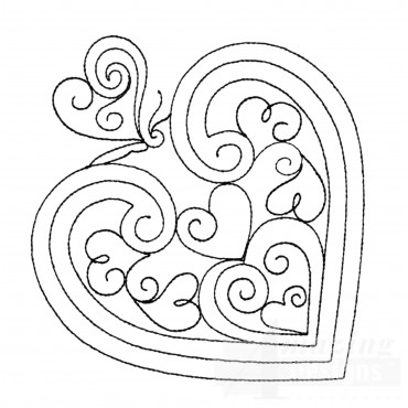 Sweet Dreams Outline 3 Embroidery Design